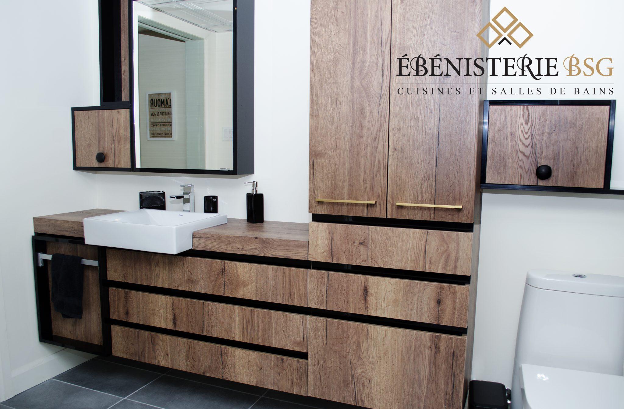 Photo Salle Bain Moderne salle de bain moderne | gagné cuisine et mobilier par